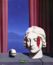 Иллюстрация. Название: «Память» (1948). Автор: Рене Магритт. Источник: http://newlit.ru/