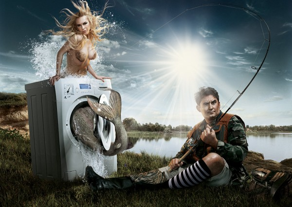 "Иллюстрация. Автор: Danapra. Название: ""Mermaid"". Источник: http://www.photosight.ru/photos/3190735_large/"