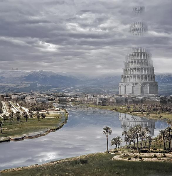 Иллюстрация. Название: «Вавилонская башня». Автор: Alexander Os. Источник: http://www.photosight.ru/photos/4486657/