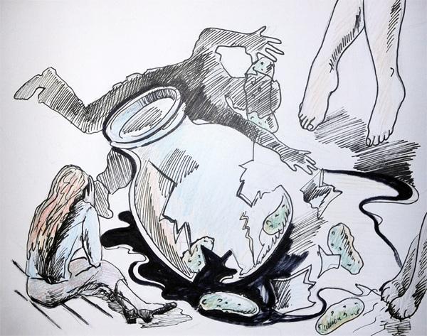 Иллюстрации Настасти Поповой