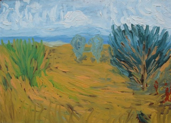 Summer landscape,  2006  Oil on canvas,  50 х 70 cm