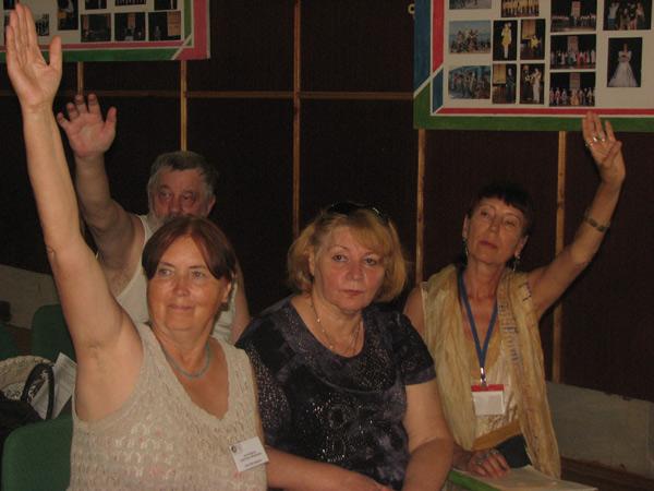 Пятый международный фестиваль литературы и культуры «Славянские традиции-2013» в Крыму. Голосование